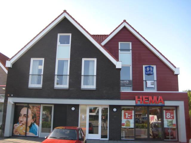 winkelpand en 3 appartementen te Ouddorp