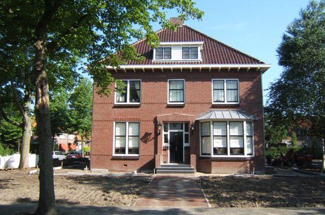 Ingrijpende verbouwing van een bestaande woning
