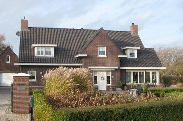Woning in landelijke stijl passend bij de omgeving, ontwerp Z-woningen