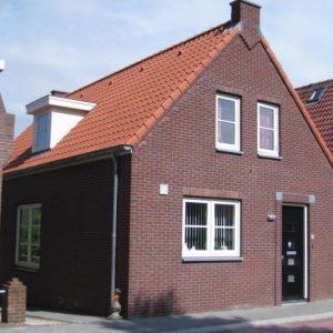 Nieuwbouw woning aan de Molenkade te Stellendam